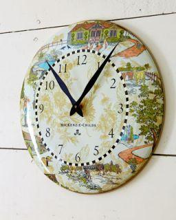 Aurora Clock   MacKenzie Childs