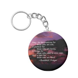 Prayer for the Sick Key Chain