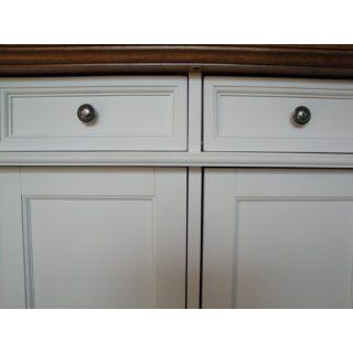 Home Styles 5002 94 Kitchen Island, White and Distressed Oak Finish: Home & Kitchen