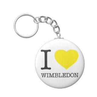 I ♥ WIMBLEDON KEY CHAIN