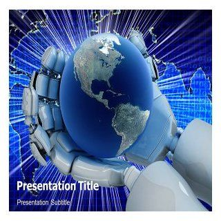 New Technology PowerPoint Template   New Technology PowerPoint (PPT) Backgrounds Templates Software