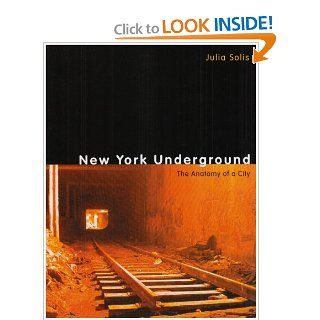 New York Underground: The Anatomy of a City: Julia Solis: 9780415963107: Books