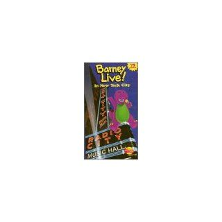 Barney Live in New York City [VHS] Barney Movies & TV