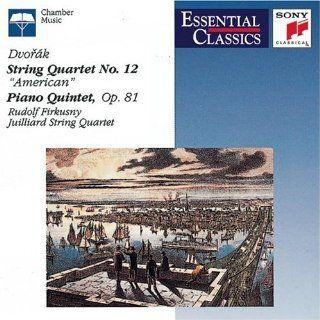 Dvorak String Quartet, No. 12 American / Piano Quintet, Op.81 (Essential Classics) Music