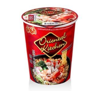 Mama Thai Instant Cup Noodles Oriental Kitchen Hot & Spicy Flavor 65 Grams Quick Meal   Other Products