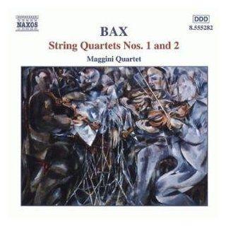 Bax String Quartets Nos. 1 and 2 Music