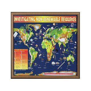 Investigating Non Renewable Resources Chart: Industrial & Scientific