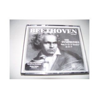 "Beethoven The Symphonies Nos.1 2 3 ""Erica"" 4 5 7   Volume 1 (3 CD's): Walter Weller (Conductor) and The City of Birmingham Symphony Orchestra: Books"