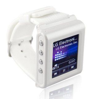 White Mobile Watch GSM Camera DV Cellphone Unlocked Bluetooth Touch Screen SPY: Watches