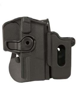 Itac Defense Roto Retention Paddle Holster fits Walther and P99 with Removable Mag Pouch  Gun Holsters  Sports & Outdoors