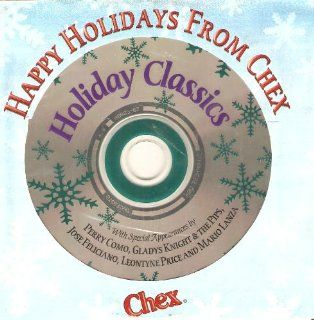 Holiday Classics   Happy Holidays from Chex (Perry Como, Gladys Knight, Jose Feliciano, Mario Lanza, more): Music
