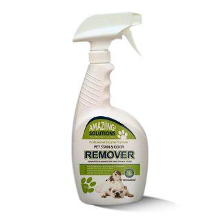 Pet Stain Remover & Cat Urine Odor Remover   GUARANTEED to Permanently Remove and Neutralize Urine Stains and Odors from Carpet, Upholstery and Other Surfaces   Maximum Strength Urine Enzyme Cleaner   Stronger Than Natures Miracle Urine Eliminator   Be