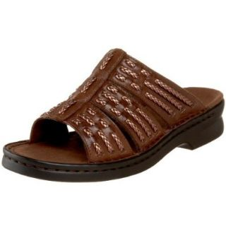 Clarks Women's Patty Greece Slide Sandal, Red, 10 M US Shoes