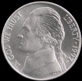 1997 P Jefferson Nickel with Matte Finish, Rare Coin: Everything Else