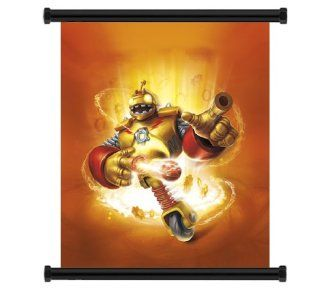 "Skylanders Giants Game Fabric Wall Scroll Poster (16"" x 17"") Inches : Prints : Everything Else"