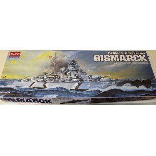 Academy German Battleship Bismarck Model Kit Toys & Games