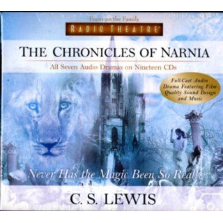 The Chronicles of Narnia Never Has the Magic Been So Real (Radio Theatre) [Full Cast Drama] C. S. Lewis 9781589972995  Children's Books