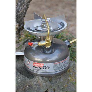 Coleman 1 Burner Dual Fuel Sporter II Liquid Fuel Stove : Camping Stoves : Sports & Outdoors