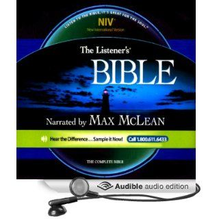 The Listener's Old Testament NIV (Audible Audio Edition): Fellowship for the Performing Arts, Max McLean: Books