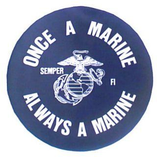 Once a Marine Spare Tire Cover : Sports Fan Tire And Wheel Covers : Sports & Outdoors