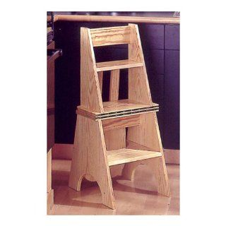 Two In One Seat/Step Stool: Downloadable Woodworking Plan: Editors of WOOD Magazine: Books