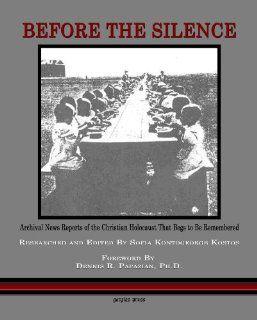 Before The Silence (9781607249993) Sofia Kontogeorge Kostos Books