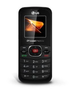 LG 102 Prepaid Phone (Boost Mobile): Cell Phones & Accessories
