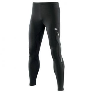 Mizuno Breath Thermo Bio Leg Running Tights   XX Large   Black : Running Compression Tights : Sports & Outdoors