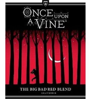 Once Upon A Vine Big Bad Red Blend 750ML: Wine