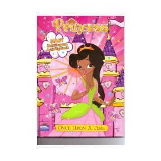 Princess Giant Coloring & Activity Book ~ Once Upon a Time: Modern Publishing: 9780766636545: Books