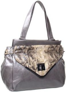 BCBGeneration  Charlie Satchel,Charcoal,One Size Shoes