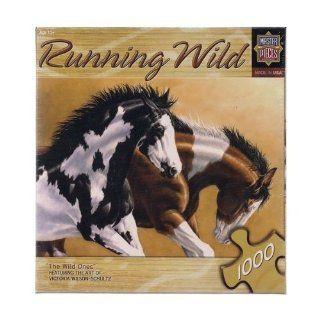 The Wild Ones 1000 Piece Puzzle By Victoria Wilson Schultz Toys & Games