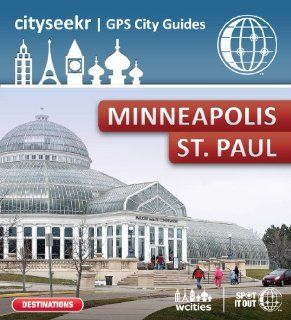 CitySeekr GPS City Guide   Minneapolis/St Paul for Garmin (PC only) [Download]: Software