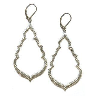 Sophia & Chloe Buddha's Kiss Earrings in Silver: Jewelry