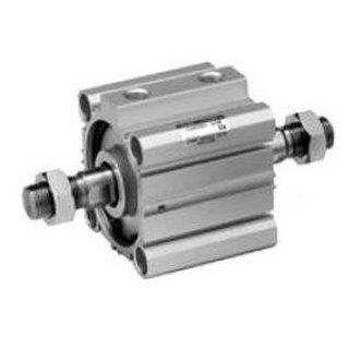 SMC NCQ2KWB20 5D actuator   ncq2 compact cylinder family 20mm ncq2 others (combo)   cyl, compact, non rot, dbl rod: Industrial Air Cylinder Accessories: Industrial & Scientific