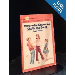 Otherwise Known As Sheila the Great (1980) JUDY BLUME 9780440467014 Books