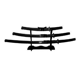 BladesUSA SW 68B4 Samurai Katana Sword Set (3 Piece), 39.5 Inch Overall  Martial Arts Swords  Sports & Outdoors