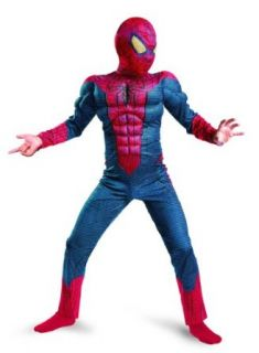 Spider Man Movie Classic Muscle Kids Costume Size: 7   8: Childrens Costumes: Clothing