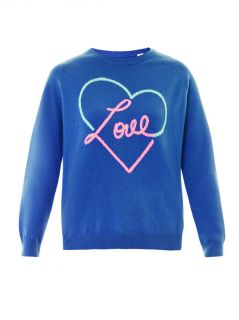 Love Heart cashmere sweater  Chinti and Parker  MATCHESFASHI