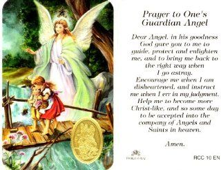Guardian Angel Prayer Card (RCC 10E)   Home And Garden Products