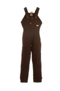 Berne WB515DBNS360 Ladies Washed Insulated Bib Overall Size S: Clothing