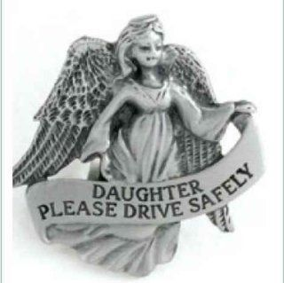 DAUGHTER PLEASE DRIVE SAFELY AUTO VISOR CLIP: Everything Else