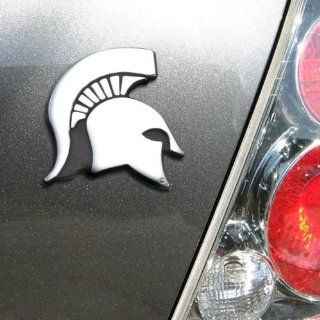 NCAA Michigan State Spartans Chrome Team Logo Auto Emblem : Sports & Outdoors