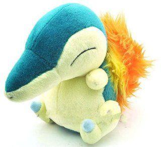 "Cute 6.5"" Pokemon Cyndaquil Plush Toy Soft Doll Hinoarashi Nintendo Toy for Kids Toys & Games"