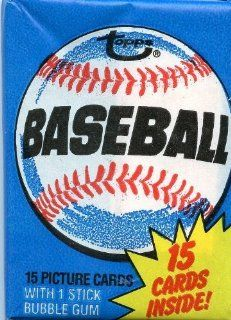 1980 Topps Baseball Sealed Wax Pack Straight From Box, Possible Ricky Henderson Rookie at 's Sports Collectibles Store