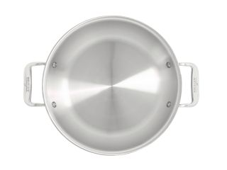 All Clad Stainless Steel 2 Qt. All Purpose Pan with Domed Lid Stainless Steel
