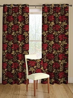 Montgomery Mimosa ruby curtain collection