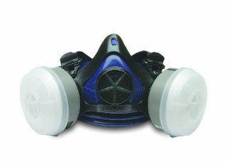 Sperian 322510 Surivair Premier Plus Half Mask with OV/N95, Medium/Large   Safety Masks