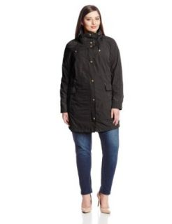 Jones New York Women's Plus Size Packable Rain Jacket Plus Size at  Women�s Clothing store