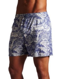 Tommy Bahama Mens Hawaii Scenic Boxer, French Blue, Large at  Men�s Clothing store